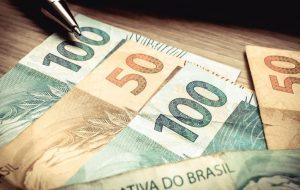 cédulas de dinheiro